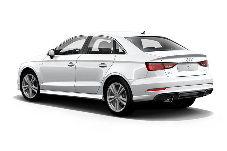 Audi A3 30 Saloon 4Dr 1.0 TFSI 110PS S line 4Dr Manual [Start Stop] back view