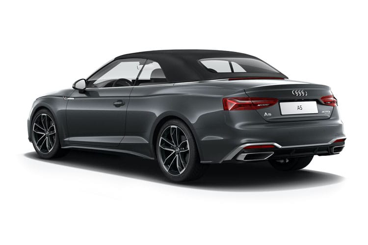 Audi A5 35 Cabriolet 2Dr 2.0 TFSI 150PS S line 2Dr S Tronic [Start Stop] [Comfort Sound] back view