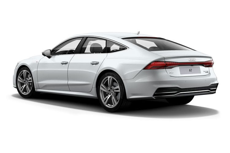 Audi A7 40 Sportback quattro 5Dr 2.0 TDI 204PS Black Edition 5Dr S Tronic [Start Stop] back view