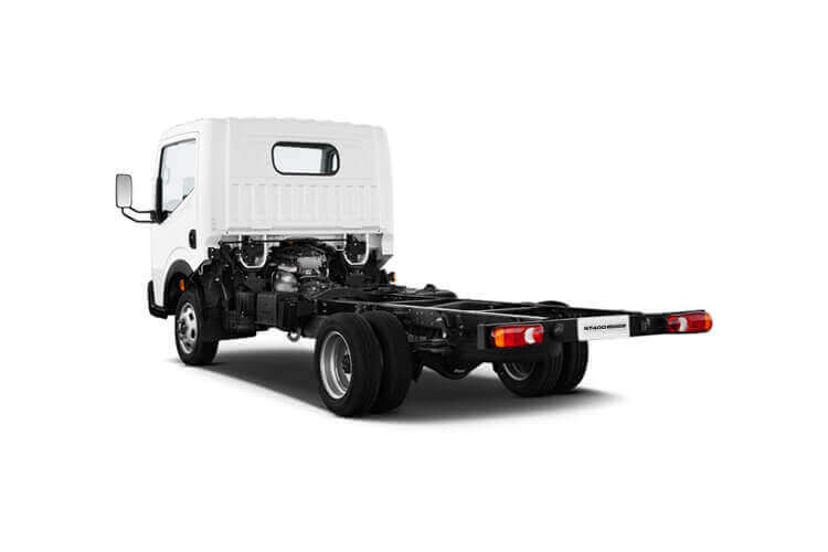 Nissan NT400 Cabstar 34.13 SWB SRW 3.0 dCi RWD 130PS  Dropside Manual back view