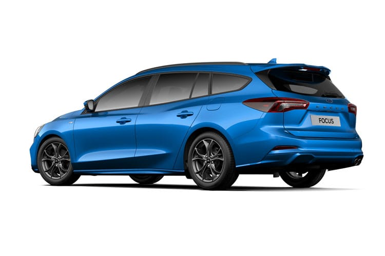 Ford Focus Estate 1.0 T EcoBoost MHEV 155PS ST-Line X Edition 5Dr Manual [Start Stop] back view