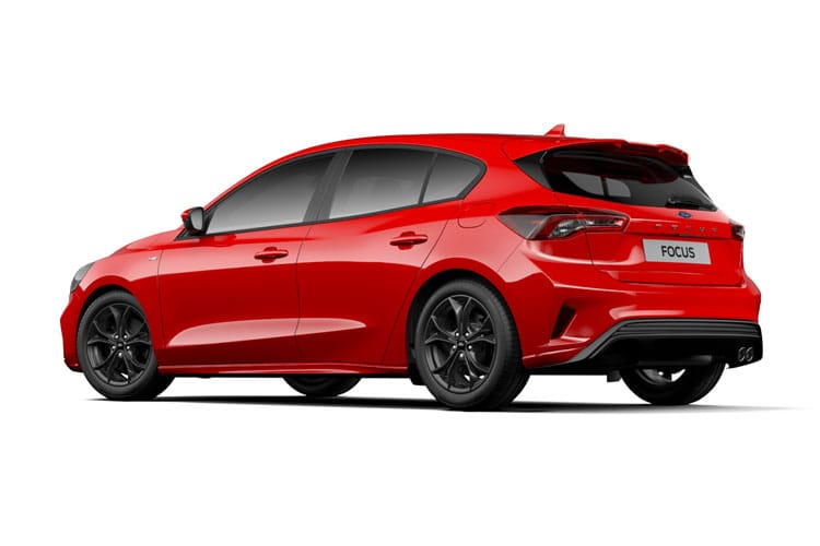 Ford Focus Hatch 5Dr 1.0 T EcoBoost MHEV 125PS Active X Vignale Edition 5Dr Manual [Start Stop] back view
