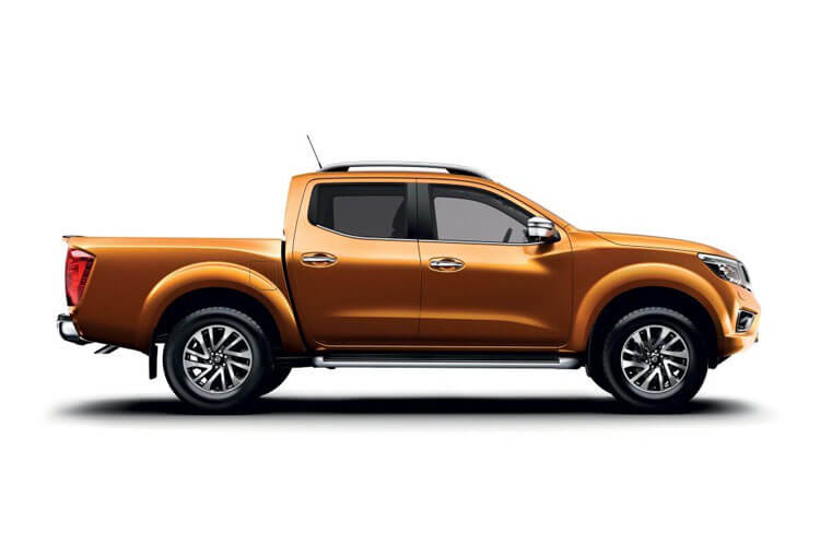 Nissan Navara PickUp King Cab 4wdS 2.3 dCi 4WS 163PS Visia Pickup Double Cab Manual [Start Stop] back view