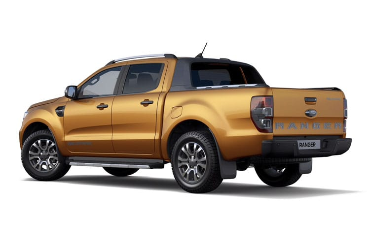 Ford Ranger PickUp 4wd 2.0 EcoBlue 4WD 170PS XL Pickup Manual [Start Stop] back view