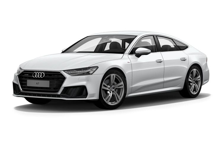 Audi A7 40 Sportback quattro 5Dr 2.0 TDI 204PS Black Edition 5Dr S Tronic [Start Stop] front view
