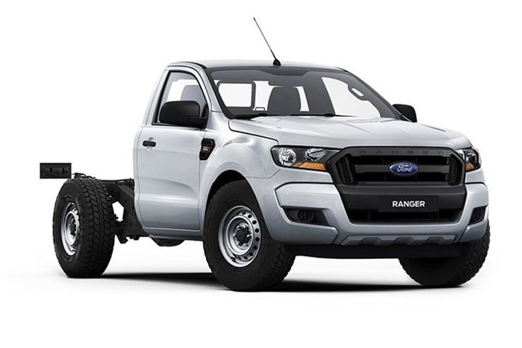 Ford Ranger Chassis Cab 4wd 2.0 EcoBlue 4WD 170PS XL Chassis Cab Manual [Start Stop] front view