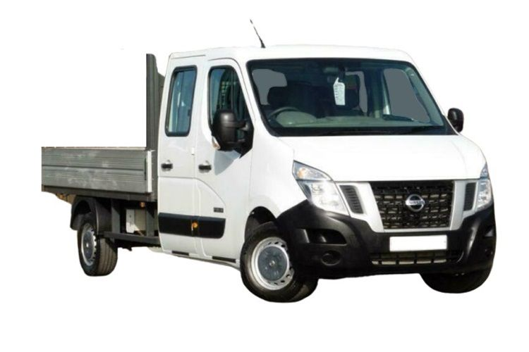 Nissan NV400 L3 35 FWD 2.3 dCi FWD 145PS SE Dropside Double Cab Manual [Start Stop] front view