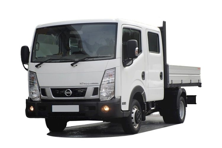 Nissan NT400 Cabstar 35.13 MWB 3.0 dCi DRW 130PS  Dropside Double Cab Manual front view