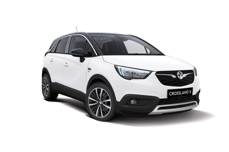 Vauxhall Crossland X SUV 1.2 Turbo ecoTEC 110PS Griffin 5Dr Manual [Start Stop] front view