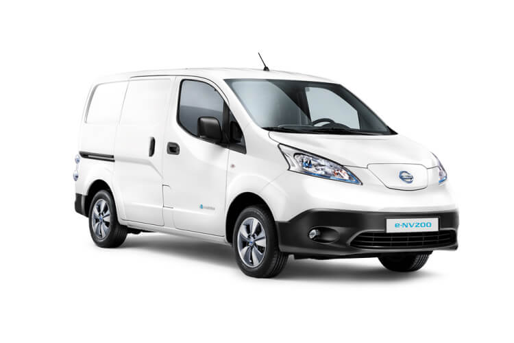 Nissan NV200 e-NV200 LCV Elec 40kWh 80KW FWD 109PS Visia 50kW QC Van Auto front view