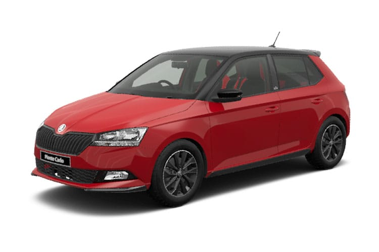 Skoda Fabia Hatch 5Dr 1.0 TSi 95PS Monte Carlo 5Dr DSG [Start Stop] front view