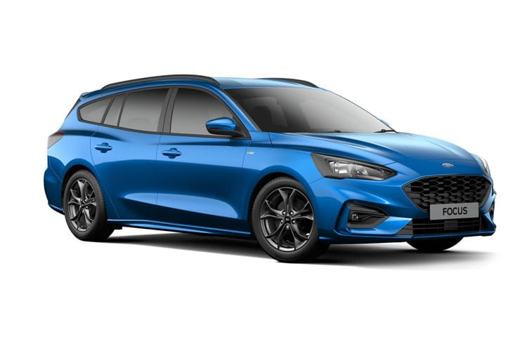 Ford Focus Estate 1.0 T EcoBoost MHEV 155PS ST-Line X Edition 5Dr Manual [Start Stop] front view