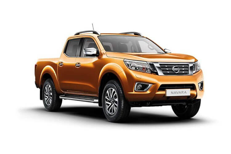 Nissan Navara PickUp King Cab 4wdS 2.3 dCi 4WS 163PS Visia Pickup Double Cab Manual [Start Stop] front view