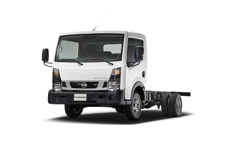 Nissan NT400 Cabstar HGV 45.15 LWB 3.0 dCi DRW 150PS  Chassis Cab Manual front view