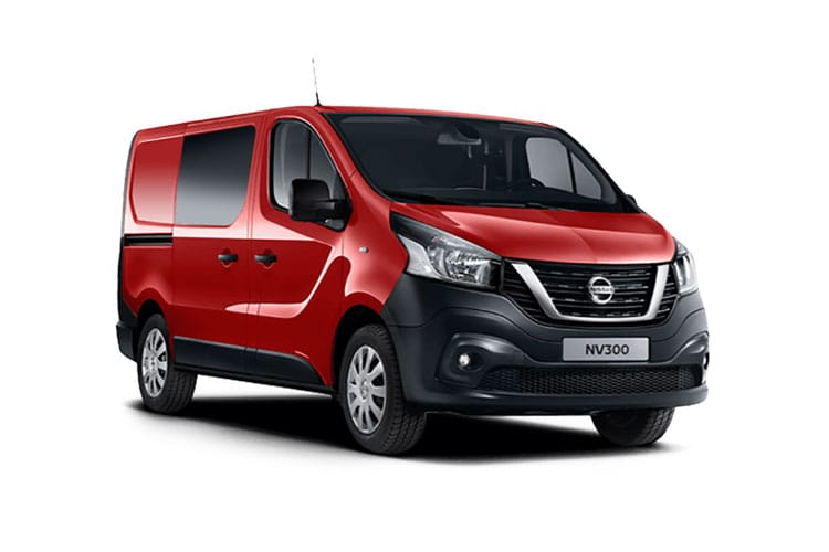Nissan NV300 L1 30 2.0 dCi FWD 120PS Acenta Crew Van Manual front view
