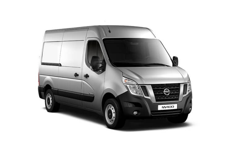 Nissan NV400 L4 35TW RWD 2.3 dCi DRW 165PS Acenta Van High Roof Manual [Start Stop] front view