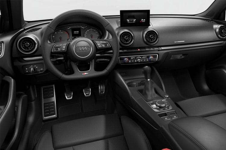Audi A3 30 Saloon 4Dr 1.0 TFSI 110PS S line 4Dr Manual [Start Stop] inside view