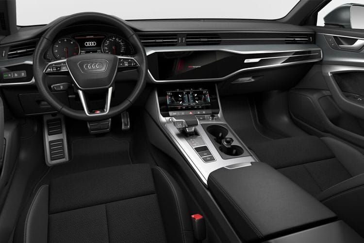 Audi A6 50 Saloon quattro 2.0 TFSIe PHEV 17.9kWh 299PS Sport 4Dr S Tronic [Start Stop] inside view
