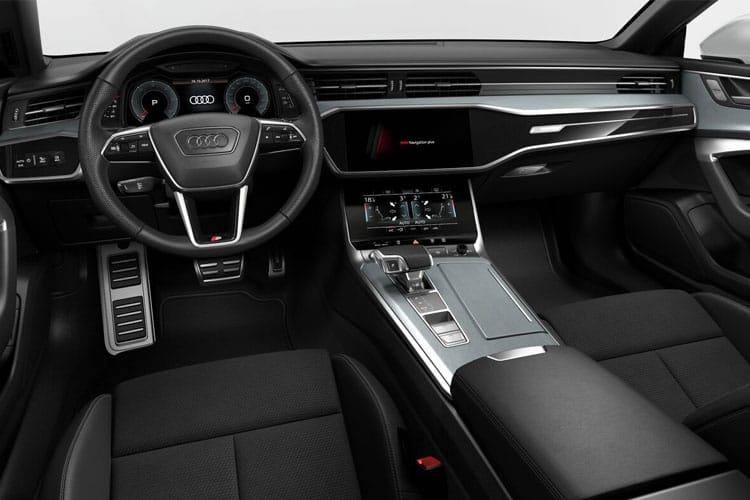 Audi A7 40 Sportback quattro 5Dr 2.0 TDI 204PS Black Edition 5Dr S Tronic [Start Stop] inside view