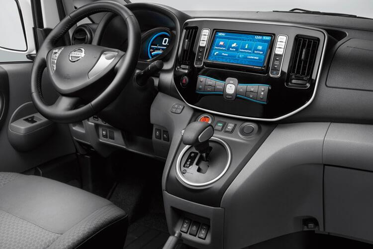 Nissan NV200 LCV 1.5 dCi FWD 90PS Acenta Van Manual inside view