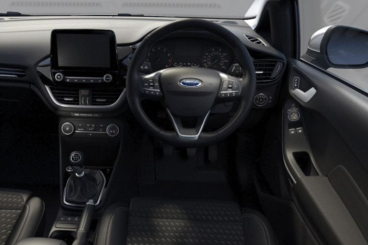 Ford Fiesta Hatch 3Dr 1.0 T EcoBoost 125PS ST-Line X Edition 3Dr Manual [Start Stop] inside view
