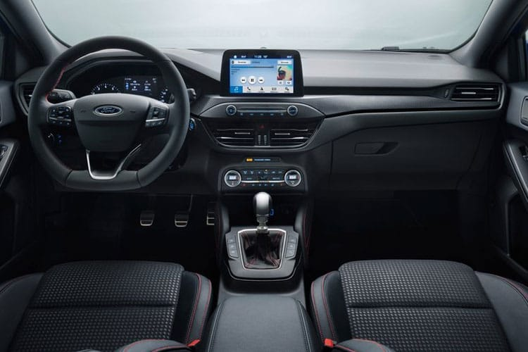 Ford Focus Hatch 5Dr 1.0 T EcoBoost MHEV 125PS Active X Vignale Edition 5Dr Manual [Start Stop] inside view