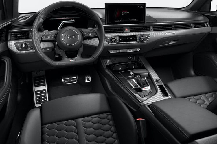 Audi A4 RS4 Avant quattro 5dr 2.9 TFSI V6 450PS Carbon Black 5Dr Tiptronic [Start Stop] inside view