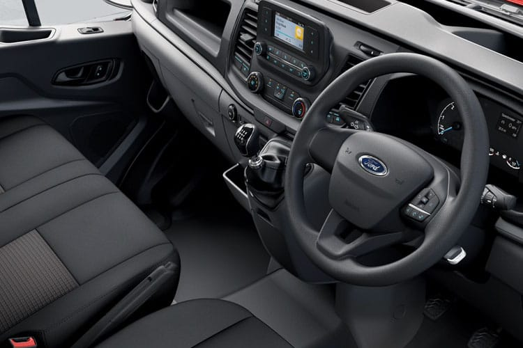 Ford Transit 350 L4 2.0 EcoBlue FWD 170PS Leader Chassis Cab Manual [Start Stop] inside view