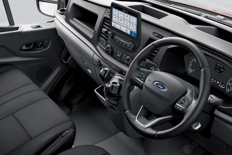 Ford Transit 350 L3 AWD 2.0 EcoBlue 4WD 130PS Leader Crew Van High Roof Manual [Start Stop] [DCiV] inside view